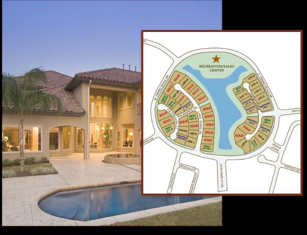 New custom home community in Richmond near Houston, TX