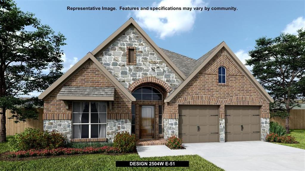 new home for sale in Richmond TX by Perry