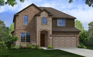 new home for sale in Richmond TX by Gehan