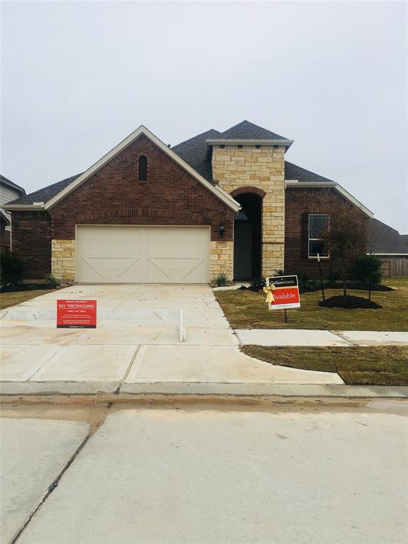 New Home for sale @ 23727 Via Viale Drive, Richmond, TX 77406