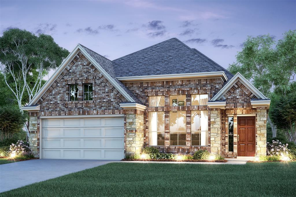 New Home for sale @ 23810 Via Viale Drive, Richmond, TX 77406