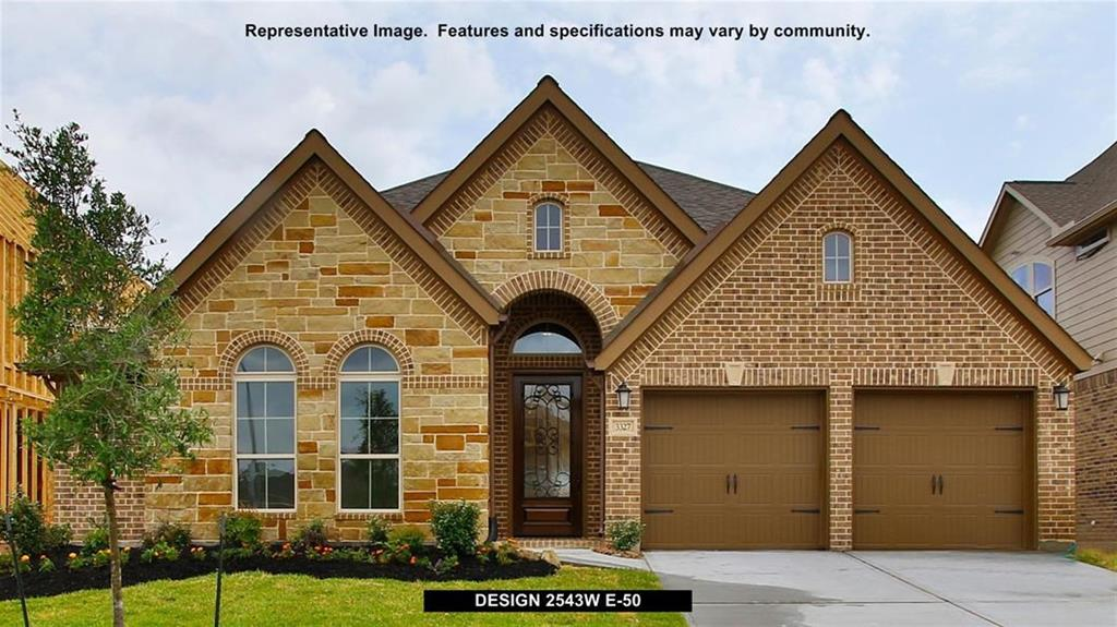 New Home for sale @ 23815 Via Viale Drive, Richmond, TX 77406