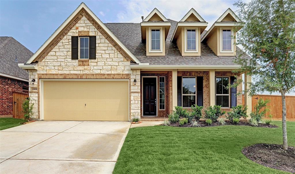 New Home for sale @ 23906 Via Viale Drive, Richmond, TX 77406