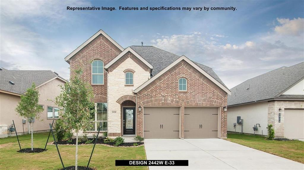 New Home for sale @ 24214 Via Vitani Drive, Richmond, TX 77406