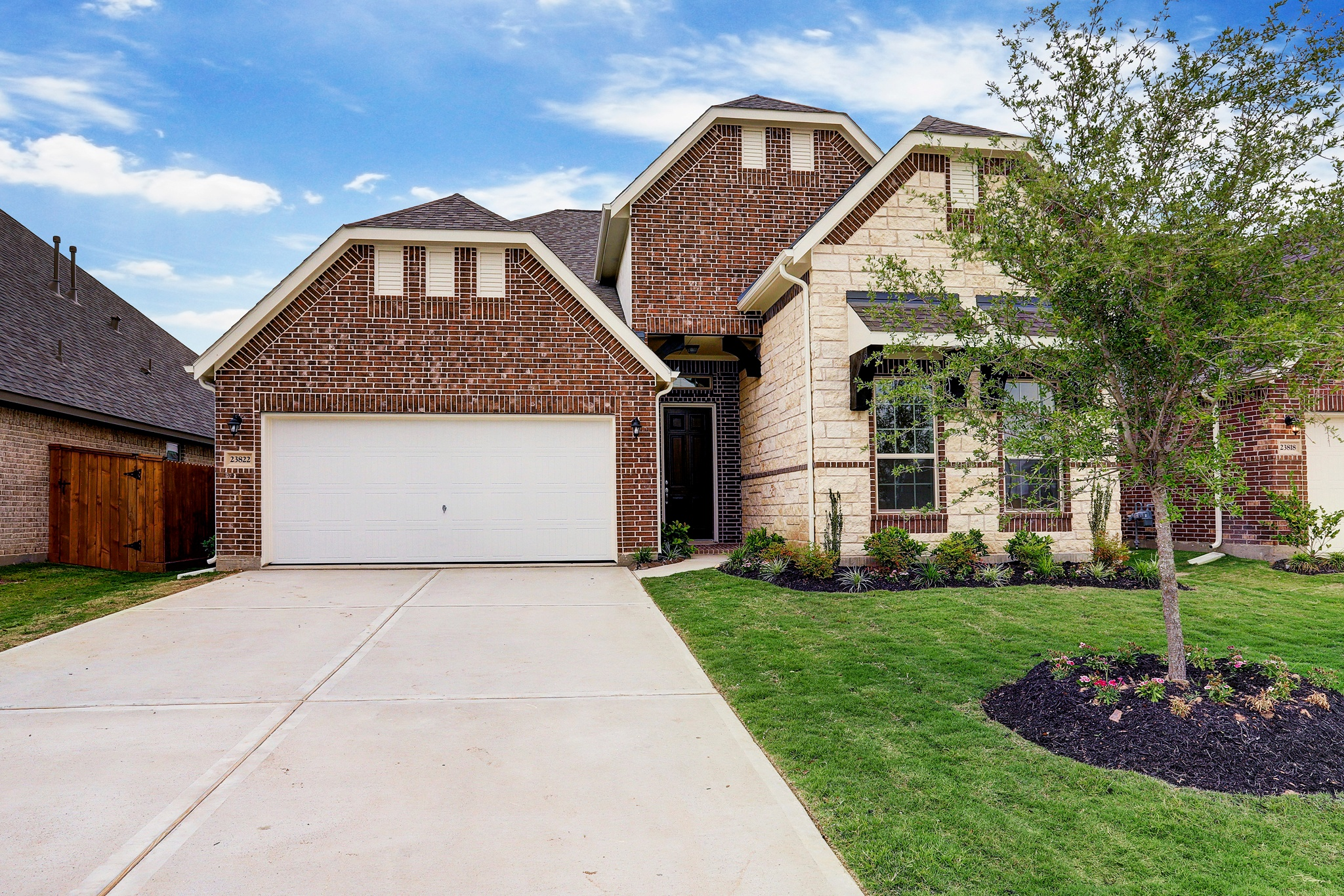New Home for sale @ 23822 Via Viale Drive, Richmond, TX 77406