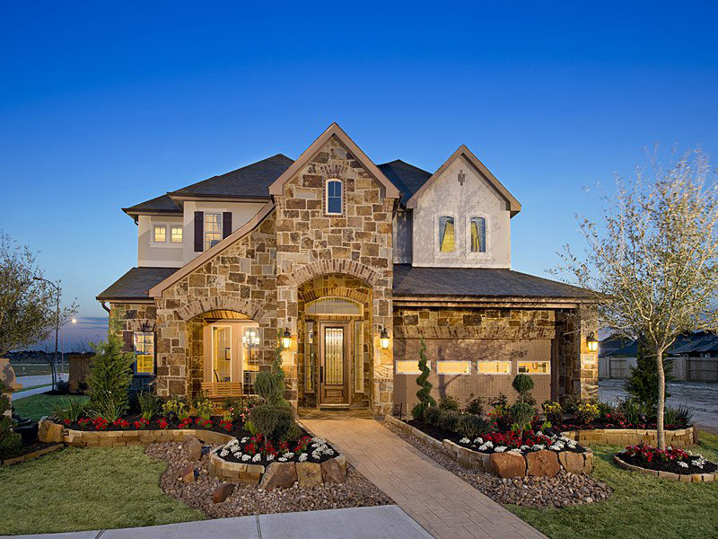 New Builder homes in Richmond TX at Lakes of Bella Terra