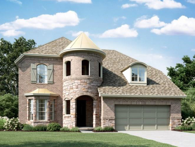 New Home for sale @ 23719 Via Viale Drive, Richmond, TX 77406