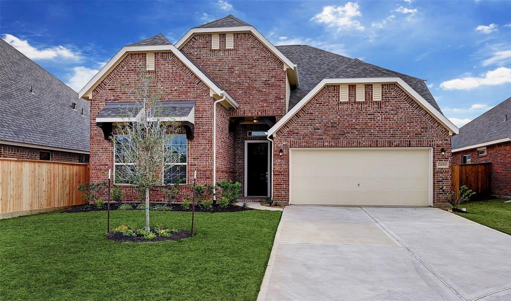 New Home for sale @ 24015 Via Viale Drive, Richmond, TX 77406