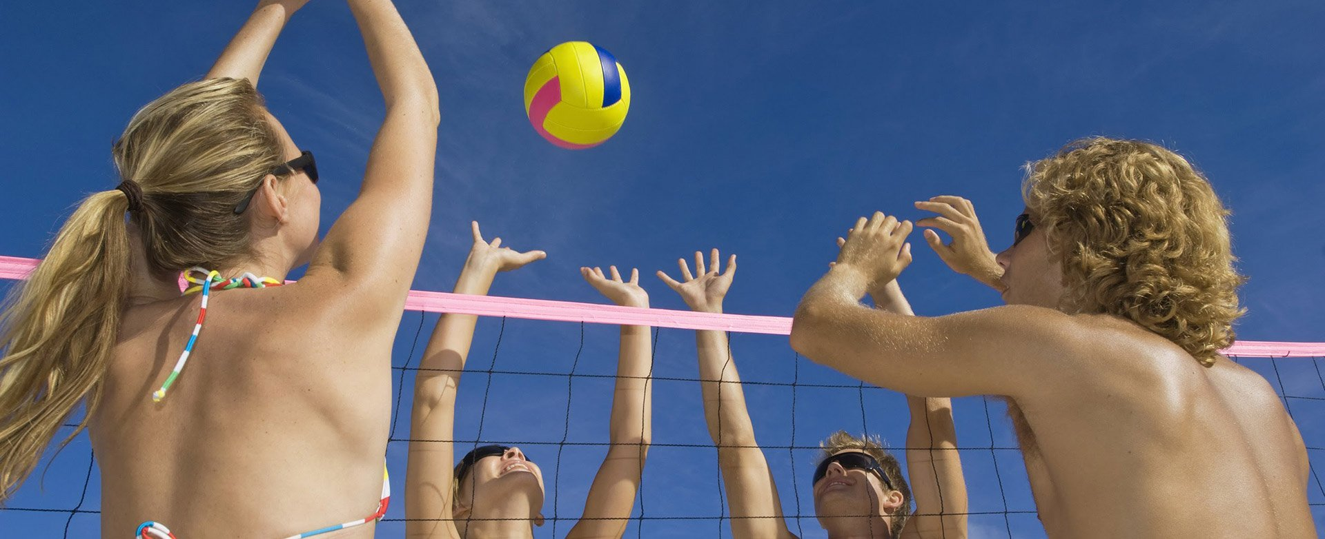 Game Point  in  new home commiunity Volleyball Courts in Richmond, TX
