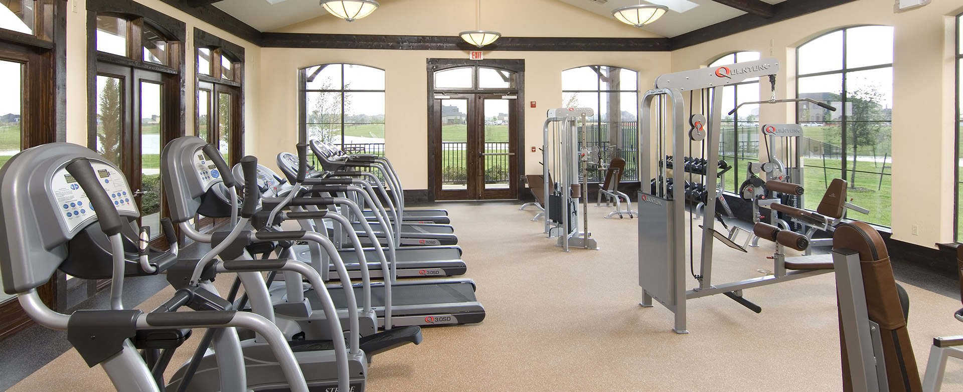 Make it happen in our Fitness Center in our new home commiunity facilities in Richmond, TX