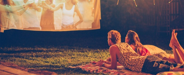 movie night in Richmond? Try our public community outdoor theater in the park -