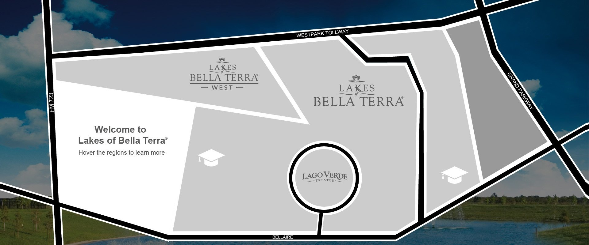 Builder Homes for sale in Fort Bend County at Lakes of Bella Terra in Richmond, TX