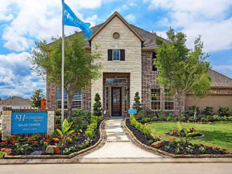 Top Home Builder - K. Hovnanian Models homes in Richmond, TX in Fort Bend County