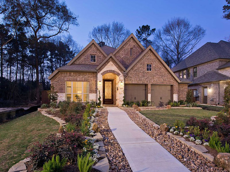 Top Home Builder - Perry Homes models open and available near Houston TX